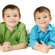 Two boys — Stock Photo