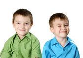 Dois meninos — Fotografia Stock