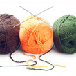 Woolen yarn - Stock Photo