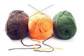 Woolen yarn — Stock Photo