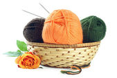 Woolen yarn — Stock Photo