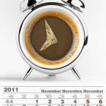 2011 november calendar — Stock Photo #4242370