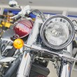 Classic motorcycle — Stock Photo