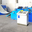 Foto Stock: Machine for rolling steel sheet