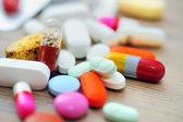 Pillole assortiti — Foto Stock