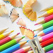 Abstract Color pencils — Stock Photo #4849630