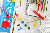School things — Stock Photo