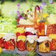 Stock Photo: Autumn preserves
