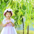 Stock Photo: Beautiful little princess