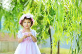 Beautiful little princess — Стоковое фото