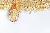 Barley flakes — Stock Photo