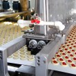 Production cookie in factory — Stock Photo #5001750