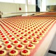 Production cookie in factory — Stock Photo #5001751
