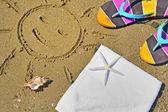 Colorful summer beachwear — Stock Photo