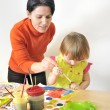 Activity in preschool — Stock Photo #5030469