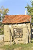 Casa danificada — Foto Stock