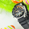 Stock Photo: Easter watch