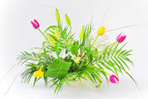 Bouquet with Lily & Tulips — Stock Photo