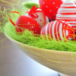 Basket with easter eggs — Stock Photo #5263028