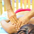 Massage at the beach — Stock Photo #5332688