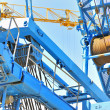 Stock Photo: Crane detail