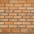 Wall yellow bricks — Stock Photo