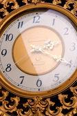 Old clock closeup vintage — Stock Photo