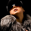 Woman with hat and coat - Foto de Stock