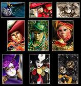 Venice Collage — Stock Photo