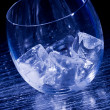 Royalty-Free Stock Photo: Glass with ice cubes