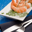 Royalty-Free Stock Photo: Prawns appetizer