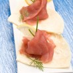 Tuna Sandwich Appetizer — Stock Photo