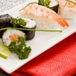 Sushi and Sashimi — Stockfoto
