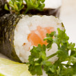Sushi and Sashimi - Stock Photo