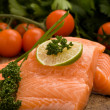 Salmon fillet — Stockfoto
