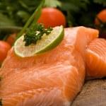 filet z lososa — Stock fotografie