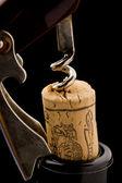Bottle opener - Corkscrew — Stock Photo