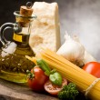 Ingredients for Italian Pasta 2 — 图库照片