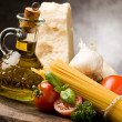 ingredientes para a massa italiana 2 — Foto Stock