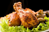 Roasted Chicken — Stockfoto
