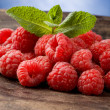 Raspberries — Stock Photo #5286205