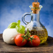 Tomato Mozzarella — Stock Photo