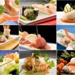 Fish Collage — Stock Photo