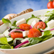 greek salad&quot — Stock Photo