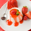 Panna Cotta - Stock Photo