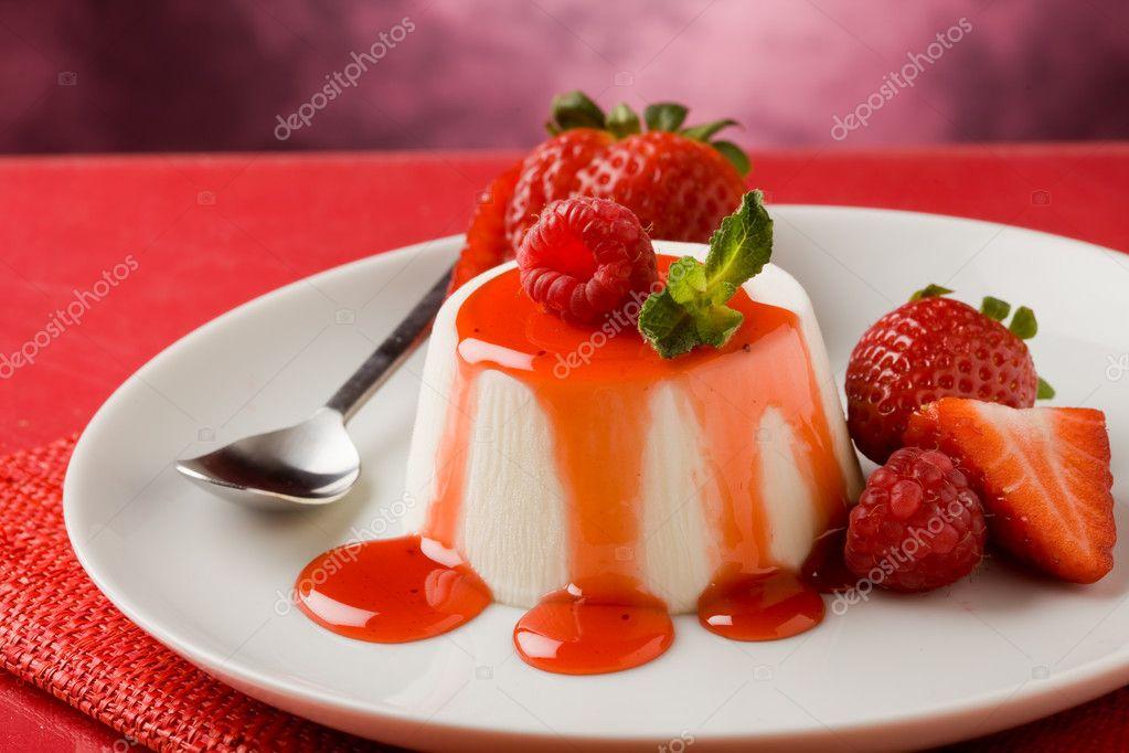 Десерт панакота рецепт с фото