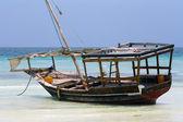 Zanzibar, Nungwi: boat — Foto de Stock