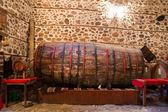 Huge Wine Barrel — Stock Photo