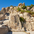The Throne at Perperikon - Stock Photo