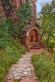 Belogradchik Rocks Chapel — Stock Photo